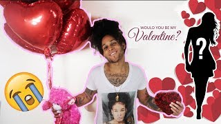 I PICKED A SUBSCRIBER TO BE MY VALENTINE! (GETS EMOTIONAL)