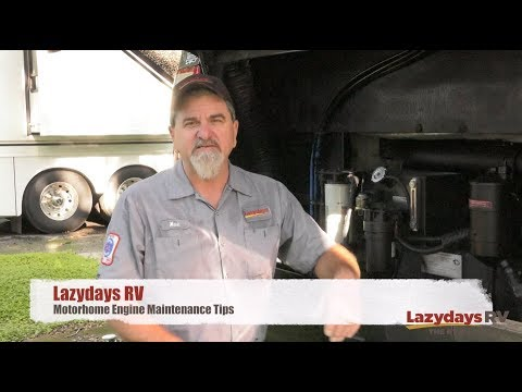 Motorhome Engine Maintenance Tips