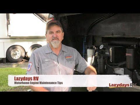 Motorhome Engine Maintenance Tips