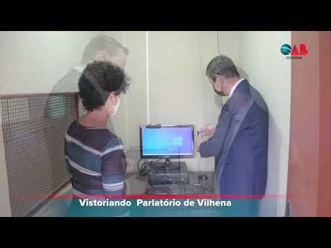 Vistoria à obra do Parlatório de Vilhena – 17.09.2021