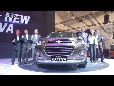 Chevrolet Memperkenalkan All New CAPTIVA di GIIAS 2016 | Oto.com