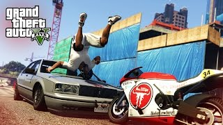 CRAZIEST STUNT FAIL! - (GTA V Stunts & Fails)