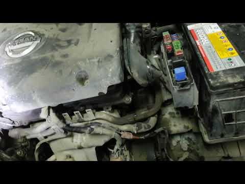 Снять генератор Nissan Murano 3.5
