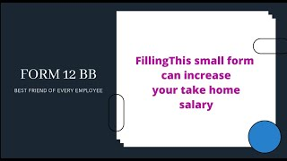 Form 12BB- Friend of Every Employee