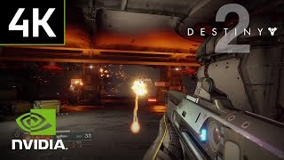 Watch Destiny 2 4K PC gameplay footage running at a smooth 60 FPS on GeForce GTX