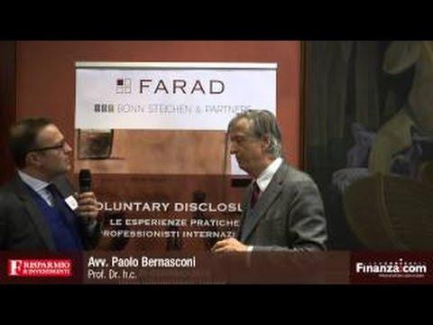 Voluntary disclosure: il punto dell'avvocato Bernasconi (video)