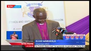 EACC holds stakeholders conference as Eliud Wabukala marks 115 days in office