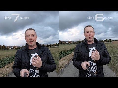 GoPro Hero7 Black vs. GoPro Hero6 Black - Video / Sound / Lowlight / Hypersmooth / 4K 60fps