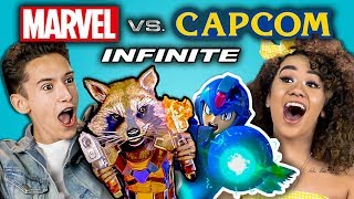 MARVEL VS. CAPCOM INFINITE GAMING TOURNAMENT (React: Gaming)