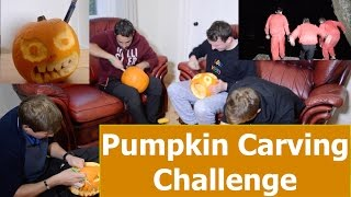 Pumpkin Carving Challenge, with forfeit