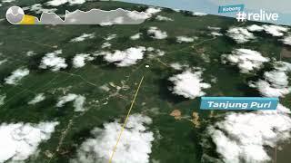 preview picture of video 'Trip dari Sintang ke Nanga Lebang'
