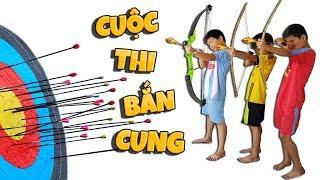 Tony | Trẻ Trâu Bắn Cung Ăn Siêu Nhân Chó - Archery Battle