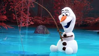 AT HOME WITH OLAF FROZEN Full Series Trailer (NEW 2020)