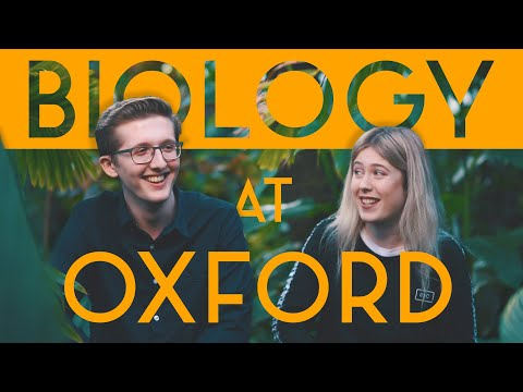 Biology at Oxford