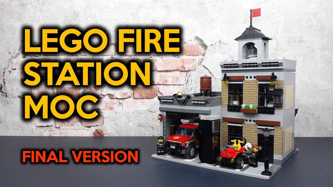LEGO Fire Station MOC Review (Final Version)