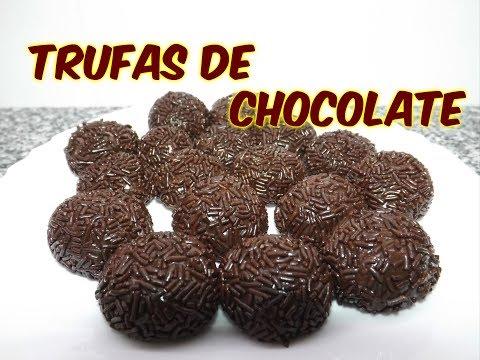 COMO HACER TRUFAS DE CHOCOLATE ||COCINA CON PILAR||