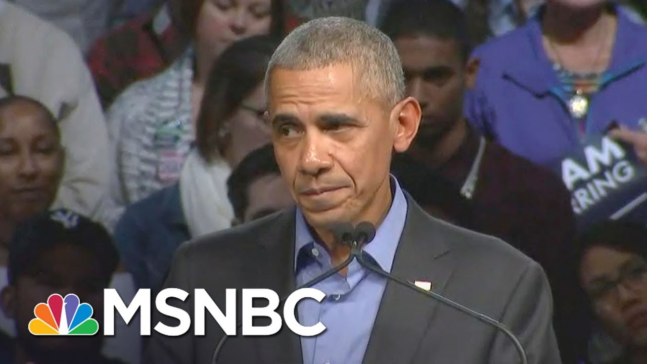 Former President Barack Obama: Can't Govern People If You Win By Dividing Them | All In | MSNBC thumbnail