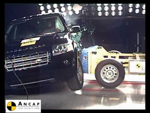 Land Rover Freelander 2 2007 ANCAP Crash Test (5 stars)
