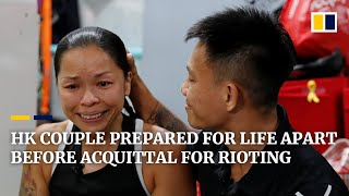'Our Hearts Will Be Together': Hong Kong Couple Prepared For Life Apart Before Acquittal For Rioting