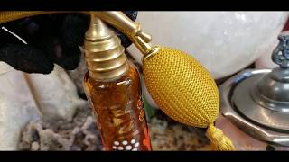 I Fixed & Restored An Antique Art Deco Czech Glass Perfume Atomizer Bottle Today 😊 💐