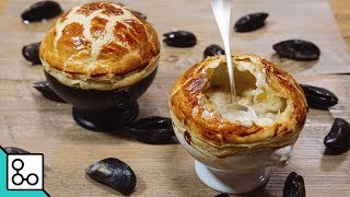 Soupe champignons-moules - YouCook