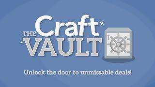 4th Feb: Craft Vault - Buy One Get One Half Price!