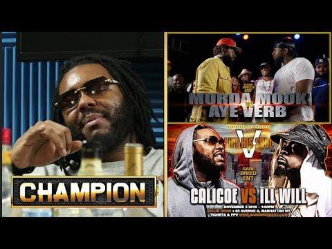 CHAMPION | CALICOE VS ILL WILL - LIFT HIS SOUL 5 - RBE