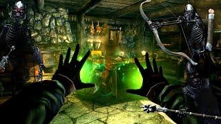 Skyrim: Призывание Орды Скелетов и Природная магия
