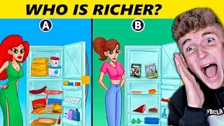 MESSED UP Mystery Riddles That NO KIDS Can Solve.. (Can You?)