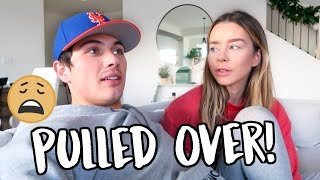 Download Youtube: WE WERE PULLED OVER FOR WHAT!? VLOGMAS DAY 7!