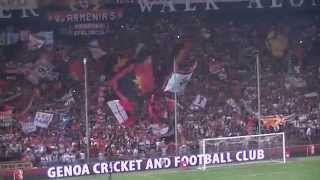 preview picture of video 'YNWA Genoa - Napoli 31/08/2014 - Genoa You'll Never Walk Alone'