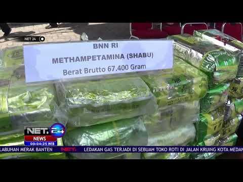 BNN Ungkap 2 Sindikat Narkoba Jaringan Lapas NET24