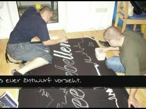 Ostseerebellen - Anleitung Banner herstellen Workshop
