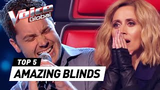Gambar cover AMAZING Blind Auditions in The Voice worldwide [PART 2] | The Voice Global