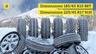 TCS test di pneumatici invernali 2016