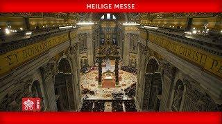 Papst Franziskus-Messe zur Eröffnung der Bischofssynode  2019-10-06