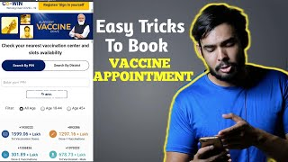 Best & easy Tips and Hacks To Book Vaccine Appointment for 18-45 Age Group//How To Book Vaccine Slot - BEST