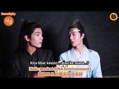[SUB INDO] XiaoZhan & Wang Yibo wawancara SINA + extra klip