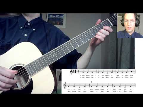 Hey There Delilah - short mini lesson (chords and strumming)
