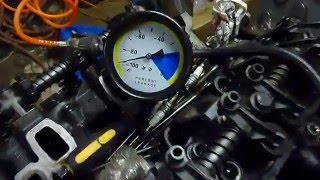 Tlaková zkouška vzduchem - Netěsnící ventil na motoru FORD 2.9L V6 GRANADA/SCORPIO