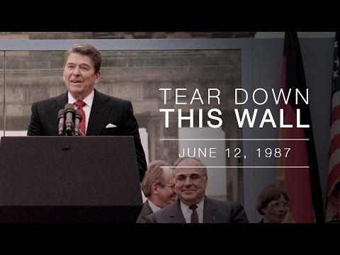 Berlin Wall Speech President Reagan S Address At The
