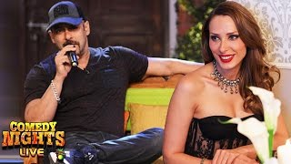 Salman Khan Confess His LOVE For Iulia Vantur On Comedy Nights Live