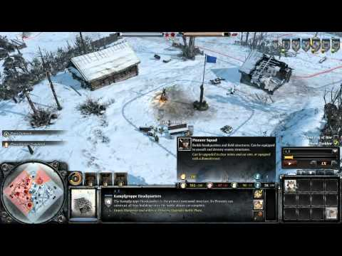 Company of Heroes 2 UI Breakdown and Comparison