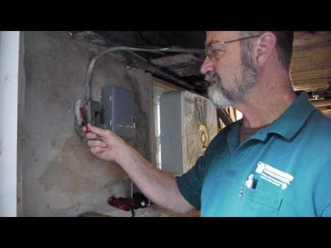 Identifying electrical deficiencies in basements