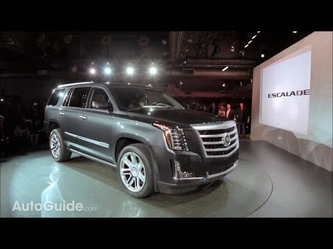 2015 Cadillac Escalade Reveal