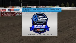 Down Under Graphics Sprintcar Summer Series - Round 3 | Kholo.pk