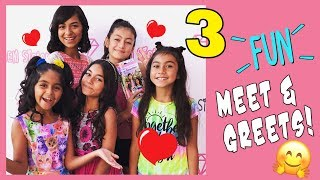 Meet And Greet Fun - LA County Fair - Family Fun With Parents Vloggers : VLOG IT // GEM Sisters