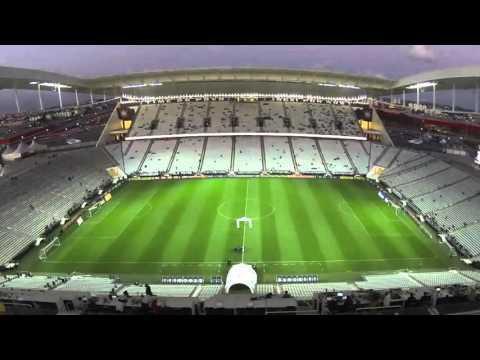 Time Lapse na Arena Corinthians