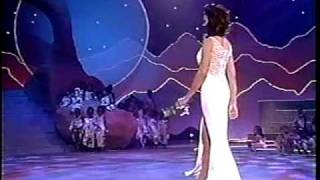 MISS UNIVERSE 1995 Evening Gown