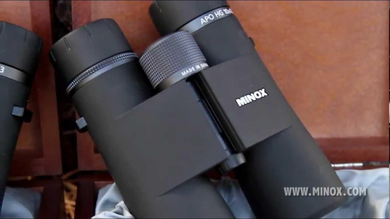 Видео о товаре Бинокль MINOX APO HG 10x43 BR